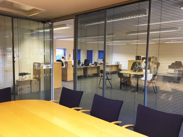 Streatley Software Ltd (Reading, Berkshire): Double Glazed Corner Office With Integral Blinds