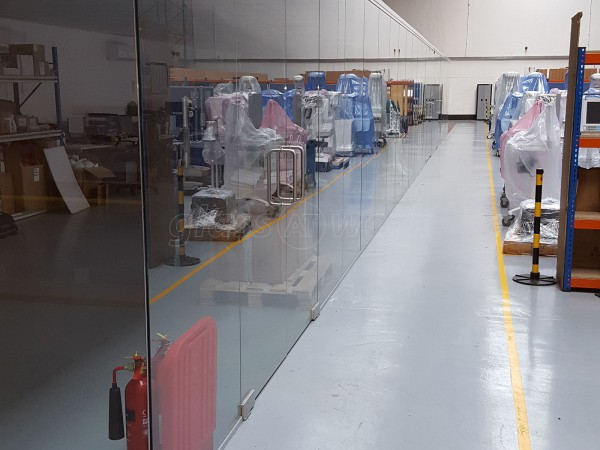 SACR (Ashford, Kent): Warehouse Glass Partitioning Project