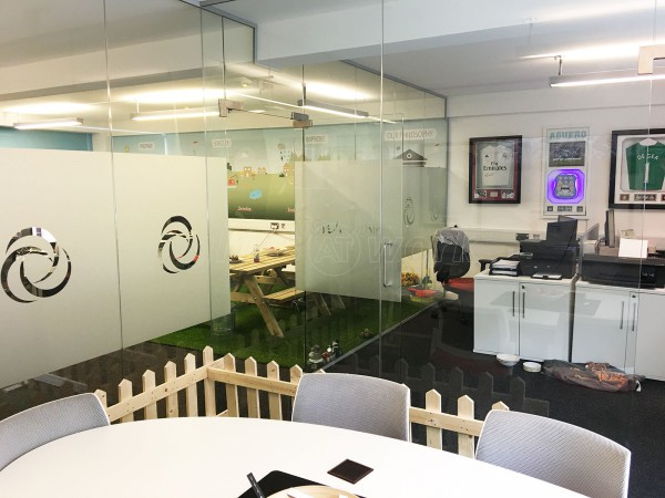 Silverchip Ltd (Newton Heath, Manchester): Glass Office Separating Wall