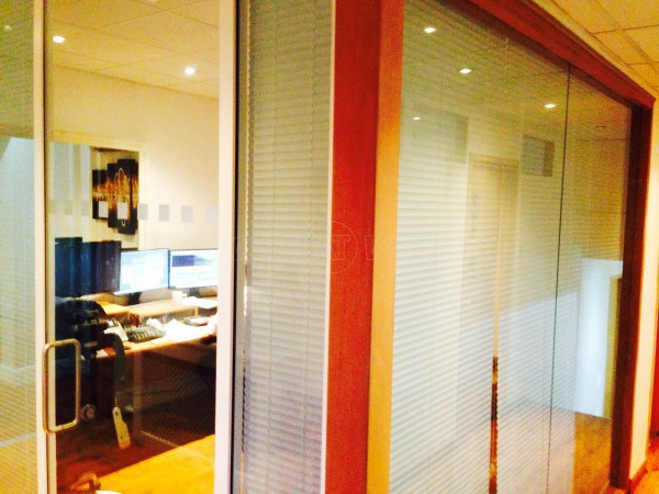 Rapid Pictures (Shepherd's Bush, London): Single Glazed Glass Partition