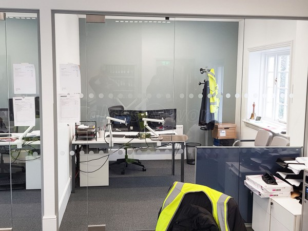 The Wigley Group (Coventry, Warwickshire): Frameless Glazed Walls For Multiple Offices
