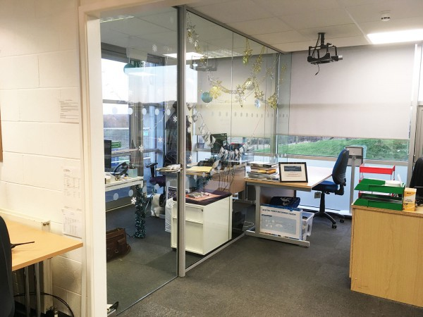 Winchester Science Centre (Winchester, Hampshire): Acoustic/Soundproofing Glass Partition
