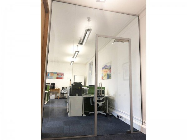 Strand Ltd (London): Acoustic Glass Wall (With Soundproofing)