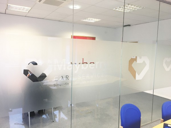 Mayberry Care Services (Aston, Birmingham): Glass Office Walls With Soundproofing