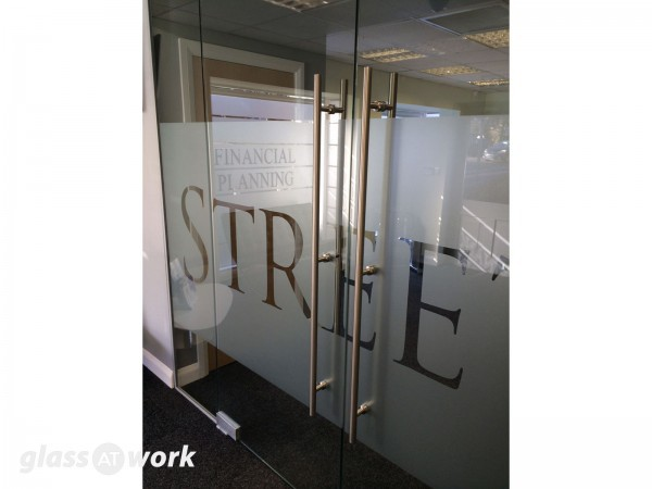 Streets Financial Consulting PLC (Lincoln, Lincolnshire): Glass Double Doors
