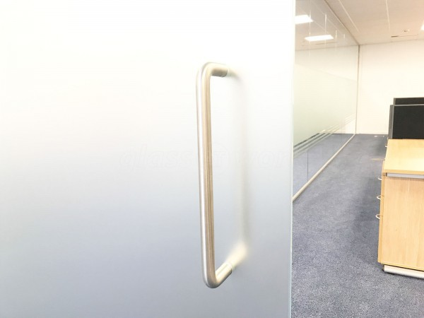 Mac Aero Interiors Ltd (Redhill, Surrey): Glass Partition Wall And Door