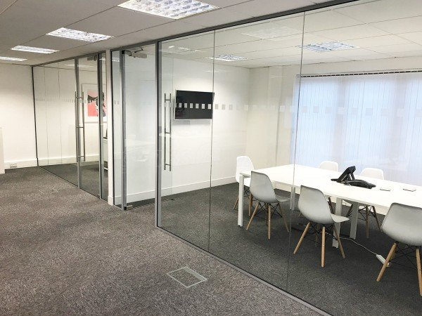 Tann Westlake Limited (Bognor Regis, West Sussex): Glazed Office & Glass Meeting Room With Framed Doors