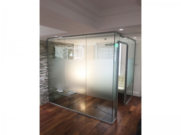 Supported Business & Bella Vou Ltd (Tunbridge Wells, Kent): Glass Office Partitioning