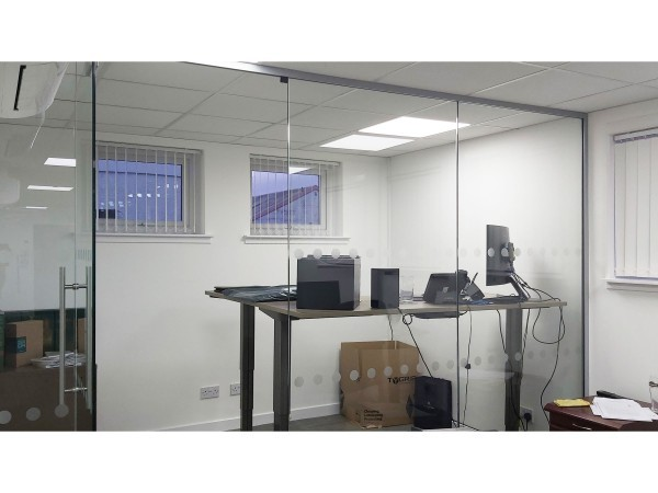 Tygris Ltd (Irvine, Scotland): Toughened Glass Office Meeting Rooms