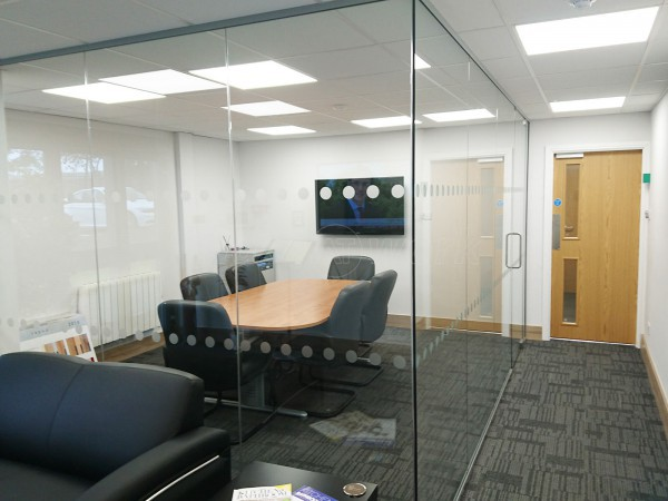 Roundel Kitchens (Washington, Tyne & Wear): Glass Office Partitioning
