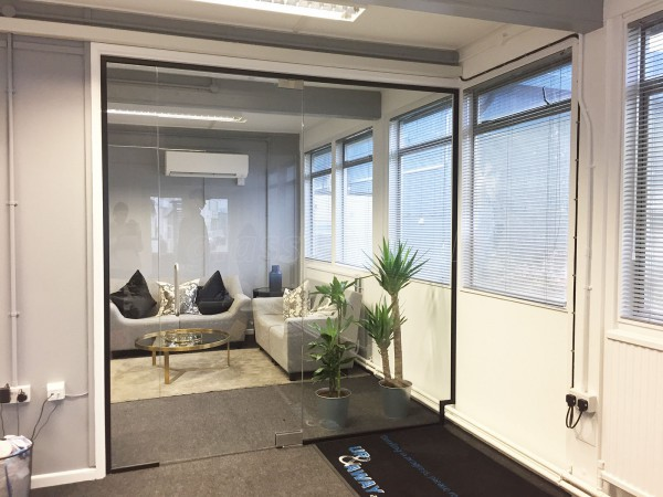 Up & Away Aviation Detailing Ltd (Kidlington, Oxfordshire): Toughened Glazed Office Separation Screens