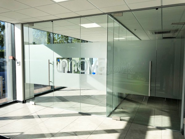 Ultima Furniture (South Elmsall, West Yorkshire): Toughened Frameless Glass Office Screens