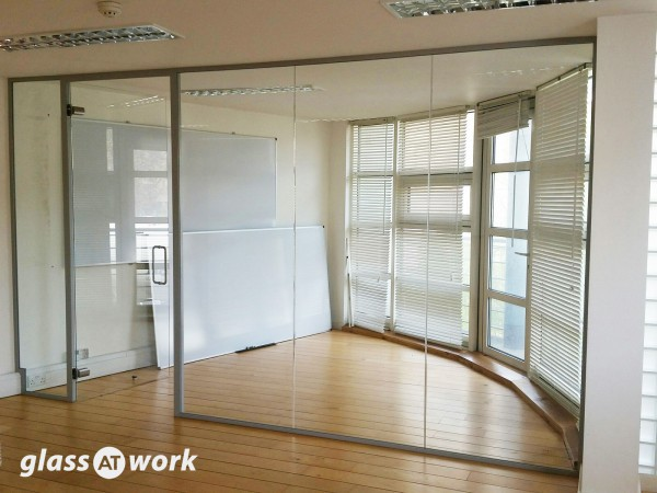 Upfront (Camden, London): Glass Office Partitions