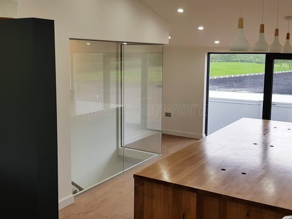 Walnut Hill Equine Veterinary Clinic (Henley-In-Arden, Warwickshire): Glass Office Wall For Vets Practice Refurbishment