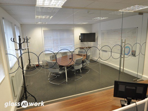 Vilicom (Reading): Glass Office Partition