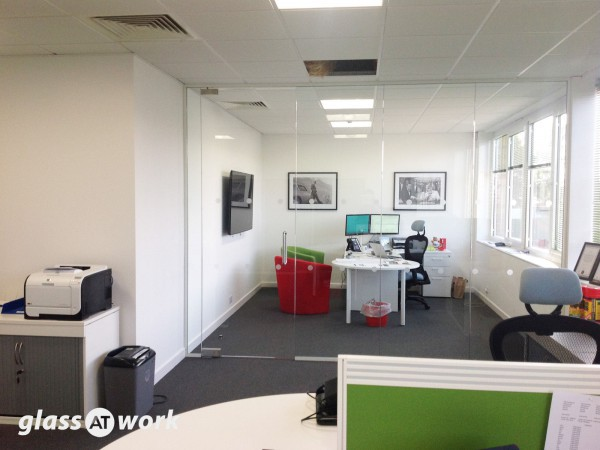 Whispering Eye Ltd (Norwich, Norfolk): Glass Office Partitions