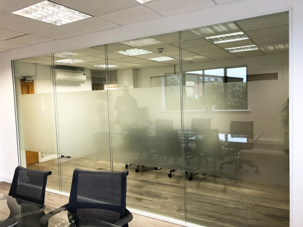 infiLED EM International Ltd (Melksham, Wiltshire): Double Glazed Glass Partition Wall With Soundproofing