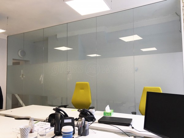 Whyte Homes PLC (Winchester, Hampshire): Glass Office Wall