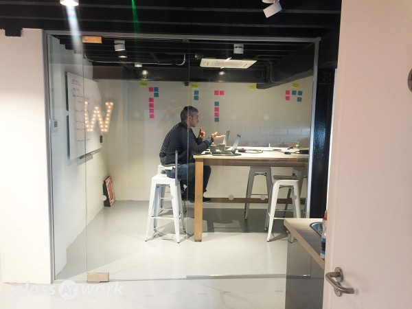 Wirewax Ltd (Camden, London): Small Glass Partition